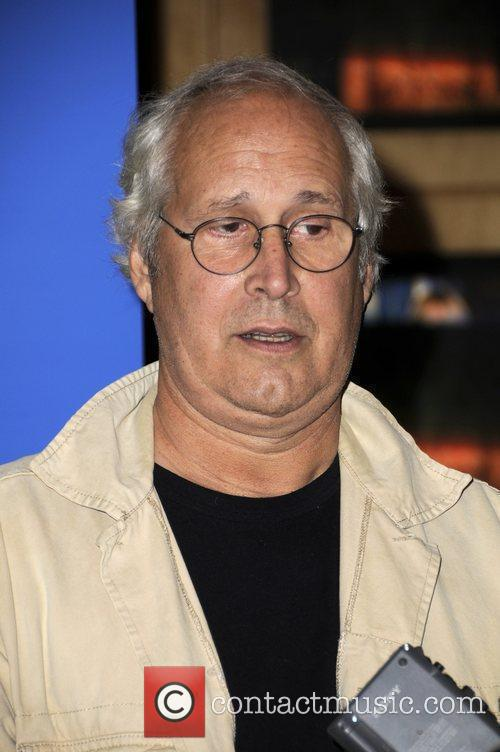 Chevy Chase arrives at PaleyFest NBC Preview Party...