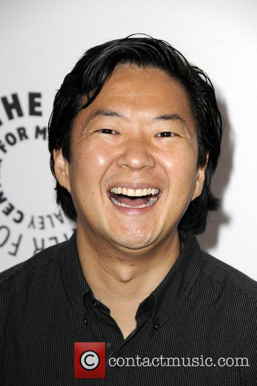 Ken Jeong arrives at PaleyFest NBC Preview Party...
