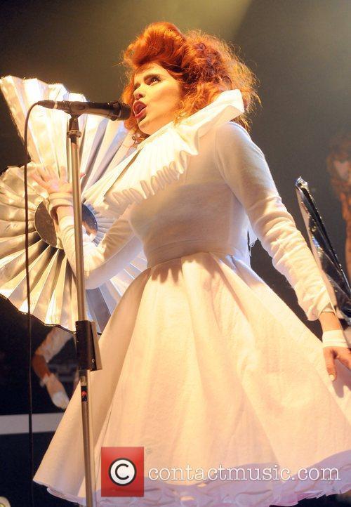 Singer Paloma Faith performing at the KoKo Center...