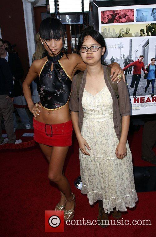 Bai Ling and Charlyne Yi