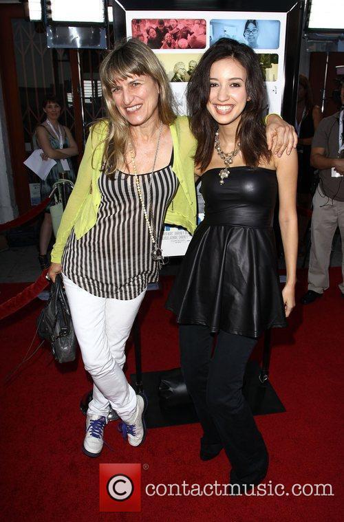 Catherine Hardwicke and Christian Serratos 6