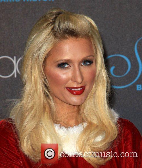 Paris Hilton  celebrates the launch of her...