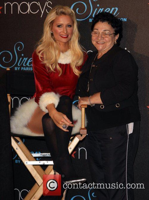 Paris Hilton and Guest celebrates the launch of...