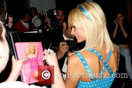 Paris Hilton outside Beso restaurant with her boyfriend...