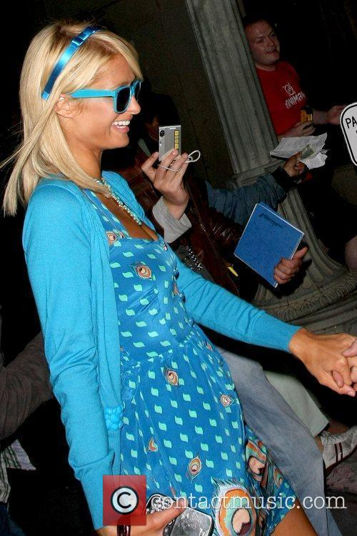 Paris Hilton outside Beso restaurant  Los Angeles,...