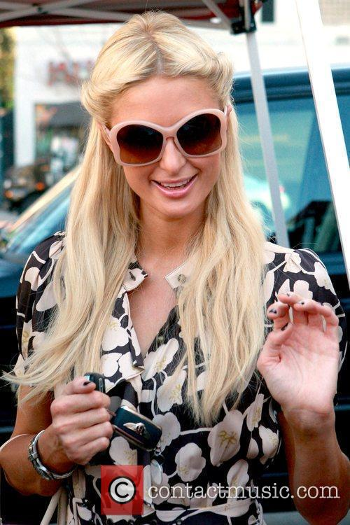 Paris Hilton  shopping at Sunset Live on...