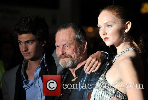 Andrew Garfield and Terry Gilliam 4