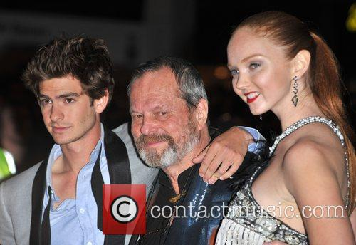 Andrew Garfield and Terry Gilliam 2
