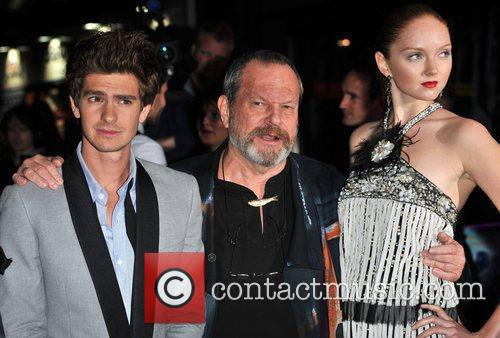 Andrew Garfield and Terry Gilliam 5