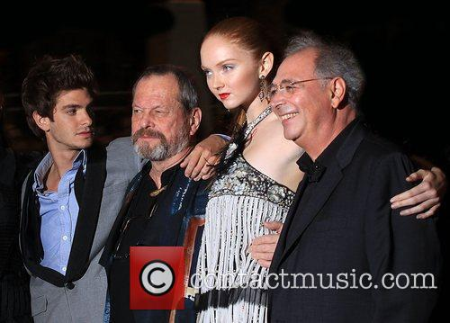 Andrew Garfield and Terry Gilliam 1
