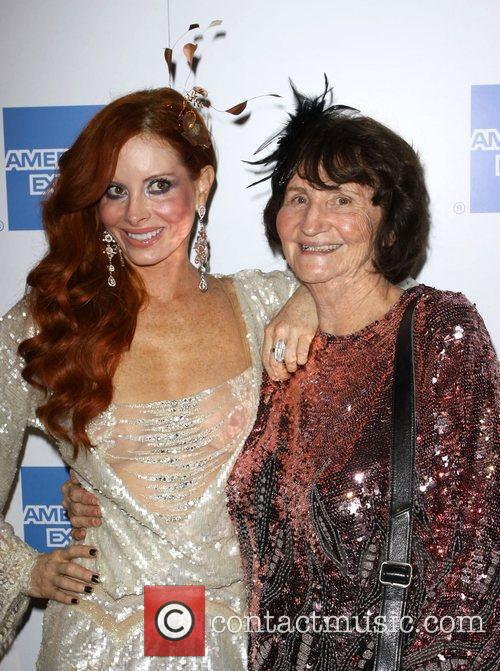 Phoebe Price and her mother 2009 Macy's Passport...