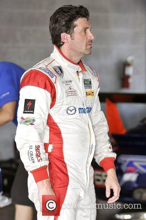 Patrick Dempsey at the 2009 Grand-Am Rolex Sports...