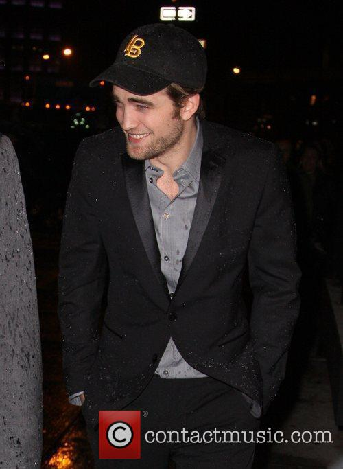 Robert Pattinson outside a lounge in the Meatpacking...