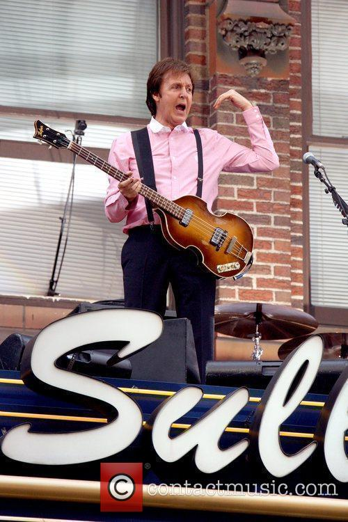 Sir Paul Mccartney, Cbs and David Letterman 11