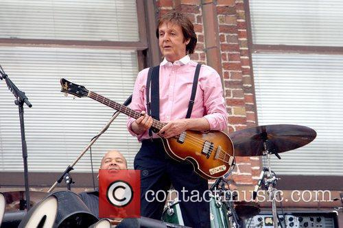 Sir Paul Mccartney, Cbs and David Letterman 10