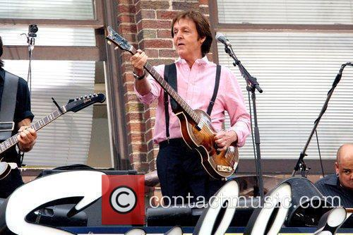 Sir Paul Mccartney, Cbs and David Letterman 6
