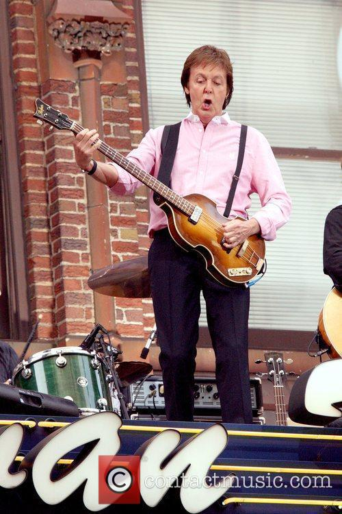 Sir Paul Mccartney, Cbs and David Letterman 3