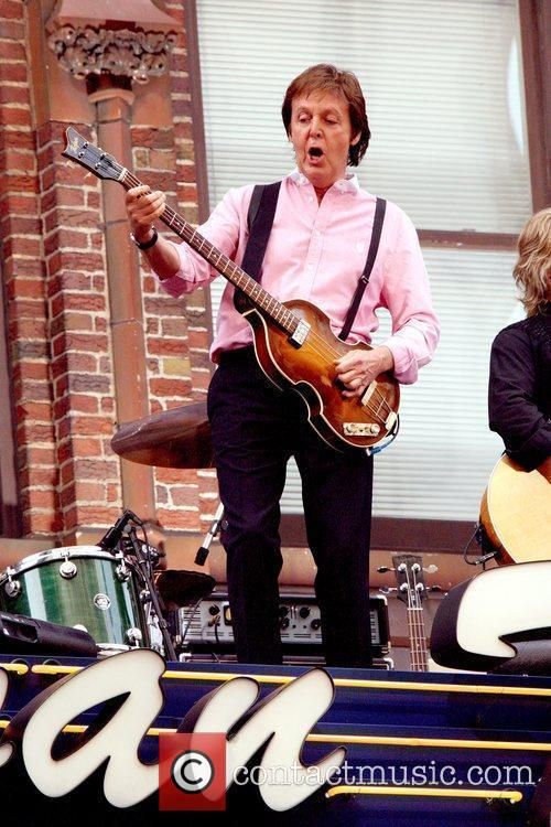 Sir Paul Mccartney, Cbs and David Letterman 2
