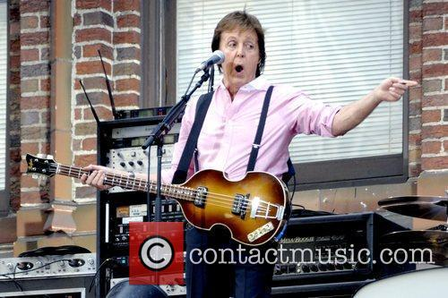 Sir Paul McCartney, CBS and David Letterman 23
