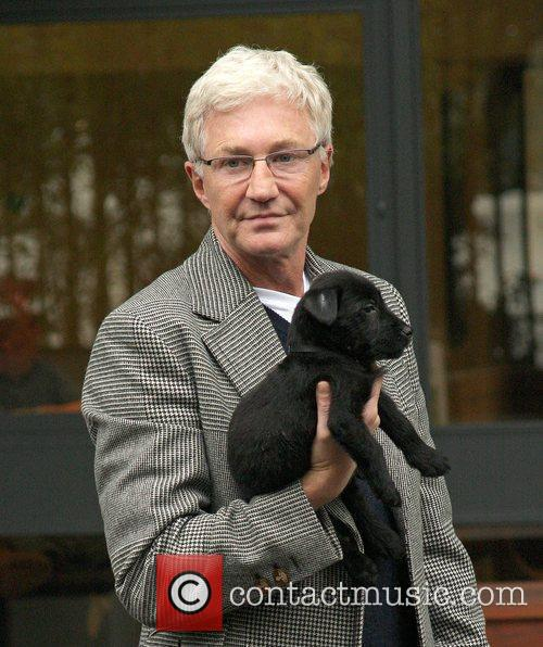 Paul O'Grady and his new 6 week old...