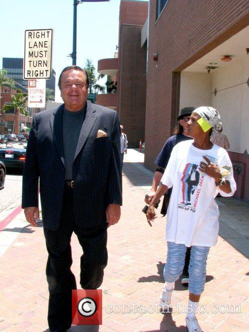 Paul Sorvino and The Quween Paul Sorvino walks...