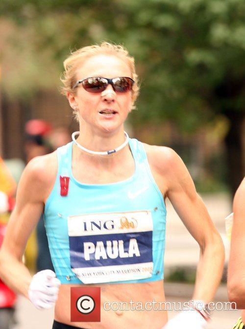 Runs the NY Marathon