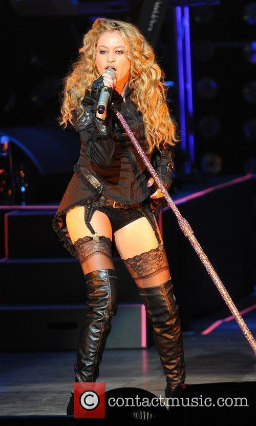 Performs her Gran City Pop tour at the...
