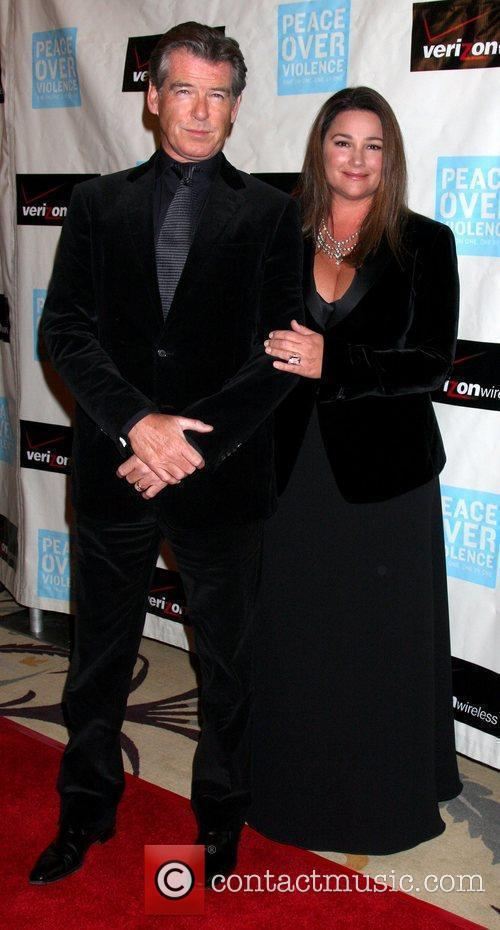 Pierce Brosnan and Wife Keely Shaye Smith Brosnan 8