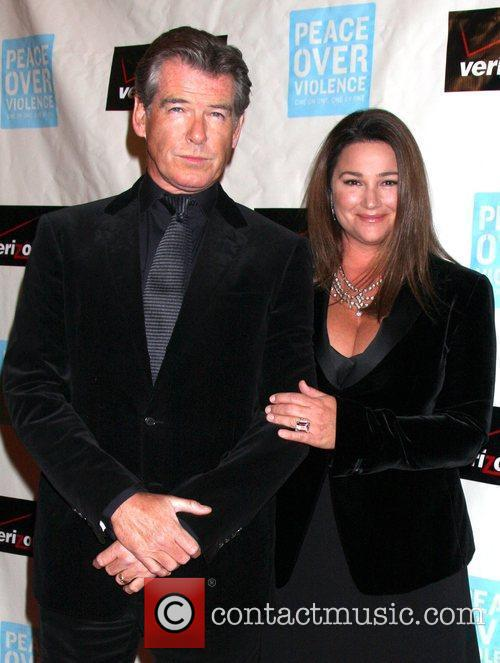 Pierce Brosnan and Wife Keely Shaye Smith Brosnan 1