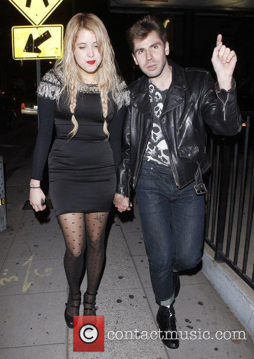 Peaches Geldof leaving the MOCA 30th Anniversary Gala...