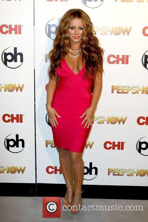 Aubrey O'day Takes To The Stage As The Peep Diva In Peepshow At Planet Hollywood 8