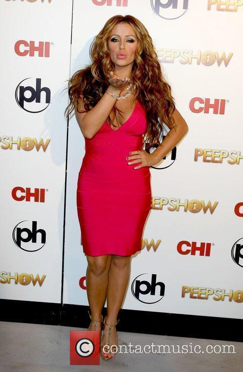 Aubrey O'day Takes To The Stage As The Peep Diva In Peepshow At Planet Hollywood 9