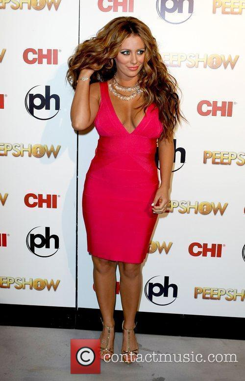 Aubrey O'day Takes To The Stage As The Peep Diva In Peepshow At Planet Hollywood 3