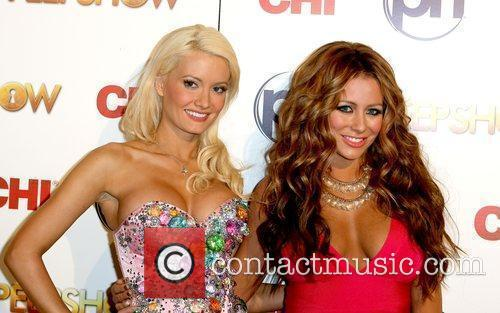 Holly Madison and Aubrey O'Day Aubrey O'Day takes...