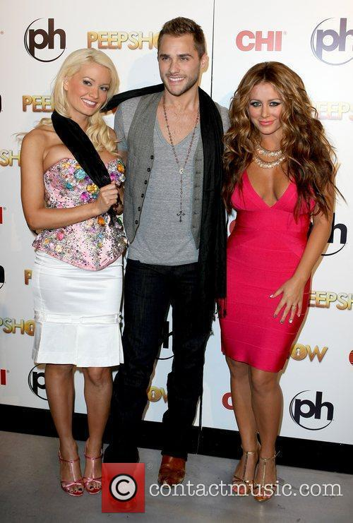 Holly Madison Josh Strickland and Aubrey O'Day Aubrey...