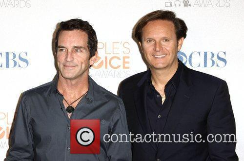 Jeff Probst and Mark Burnett People's Choice Awards...