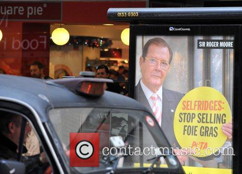 PETA and Roger Moore 2