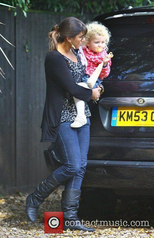 Peter Andre's nanny Nita carried Princess Tiaamii into...