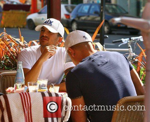 Peter Andre and His Brother Mike 5