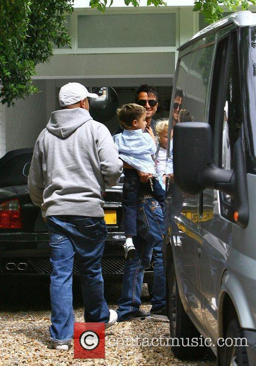 Peter Andre, with his son Junior moving into...