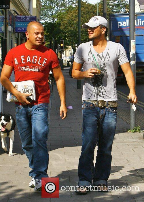Peter Andre and His Brother Mike Andre 3
