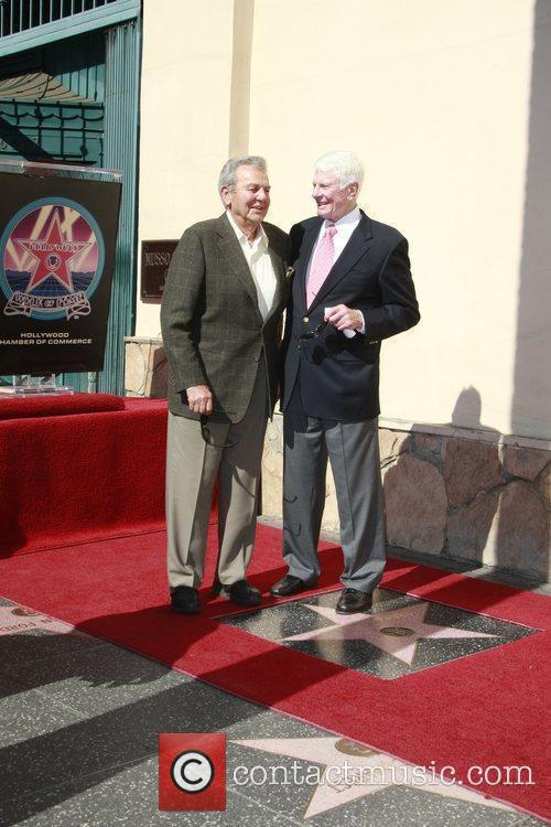 Actor Peter Graves receives the 2391st star on...