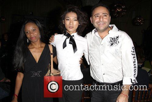 Charmaine Blake, Designer Peter Phan and Jacob Peter...