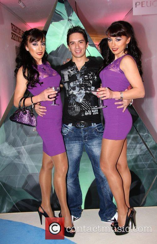 Gabriela Irimia, Darius Bleu and Monica Irimia 1