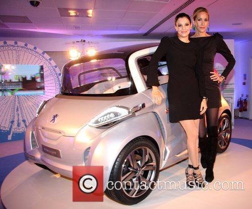Guest and Lisa Butcher Peugeot BB1 concept car...