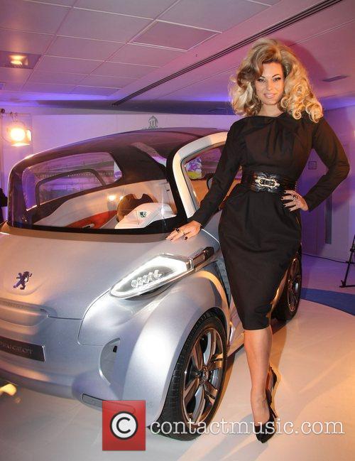 Modesty Blaise Peugeot BB1 concept car launch at...