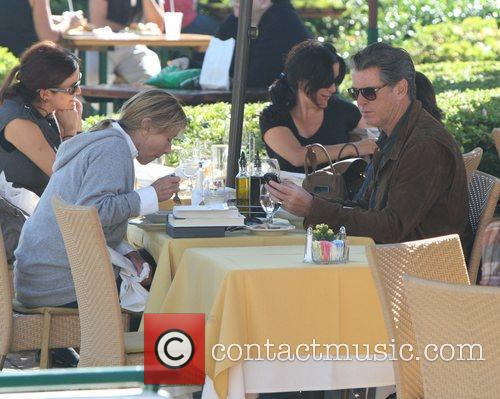 Pierce Brosnan and Daughter Charlotte Brosnan 2