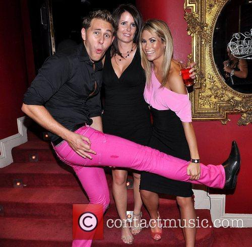 Anthony Kelly, Laura McAuliffe and Rachel Loughman The...