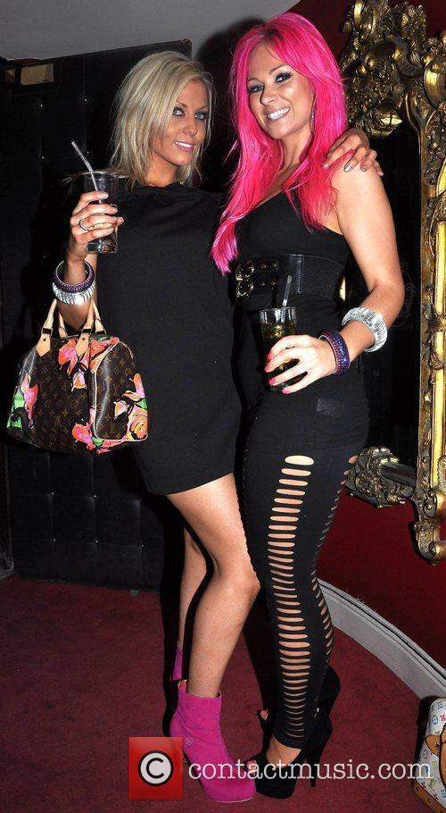 Becky Sutherland and Jessica Morrica The Pink &...