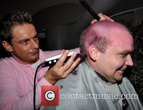 Ivano Cafolla The Pink & Black Affair party...